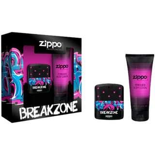 Zippo breakzone perfume set for women