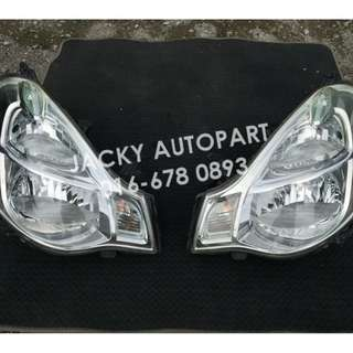 Lampu Front Headlight Koito Nissan Sylphy G11 Jpn