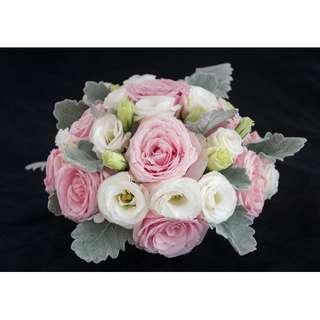 Round Floral Table Arrangement
