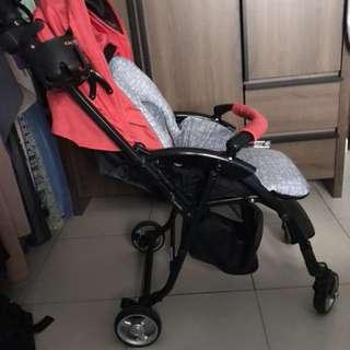 Red Capella Stroller.
