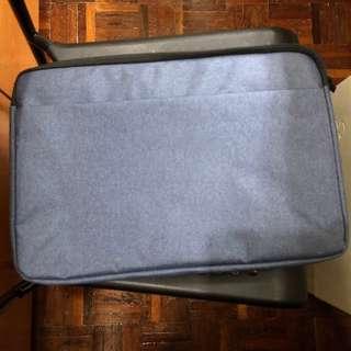 寶藍色15吋notebook手提電腦保護袋(送鍵盤保護貼)