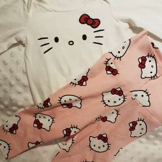 HELLO KITTY Onesie & Legging