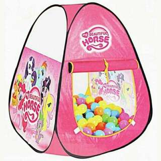 Tenda anak segitiga my little pony