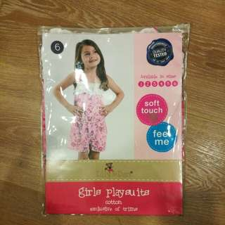 BRAND NEW! Girls Playsuit (Age 6)