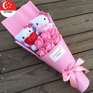 Hello Kitty Plushie Bouquet Valentines Gift (Mini)