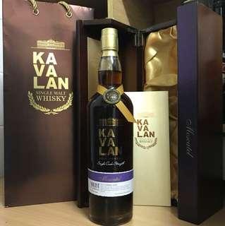 KAVALAN Single Malt WHISKY 噶瑪蘭雪莉桶威士忌原酒