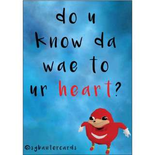 Do U Noe Da Wae To Ur Heart?