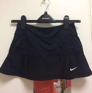 Nike dri fit tennis skirt black