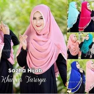 Hijab Jilbab Khimar Tarisya