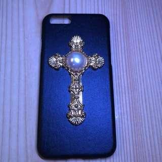 十字架珍珠 IPhone 6/6s 殻