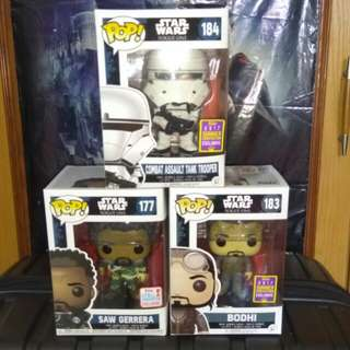 [PRE-ORDER] Star Wars Rogue One Funko Pop Bundle 2