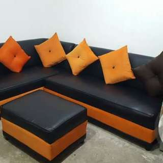 L-shape sofa set brand new