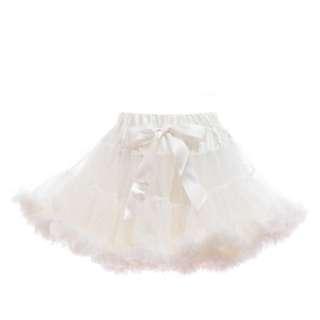 Petti Tutu Skirt (Baby Girl) - Pale Ivory