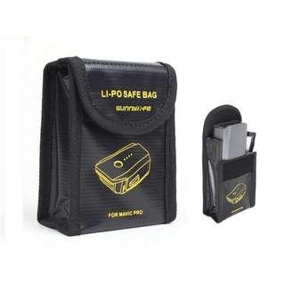 DJI Mavic Pro Li-Po Safe Battery Storage Bag (2pcs Bundle)