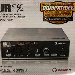 Steinberg Audio Interface UR12