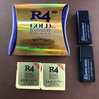 BNIB R4 Gold Pro RTS 2018 R4I 3DS DS lite