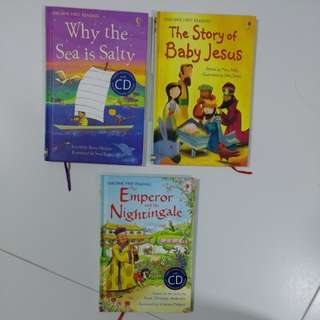 USBORNE First Reading Books with CDs and also downloadable worksheets