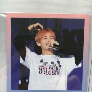 BTS HYYH Live On Stage Epilogue 2016 Official Photocard V / Taehyung