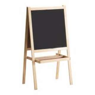 Ikea blackboard and whiteboard