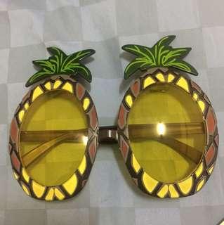 Kacamata sunglasses summer pineapple