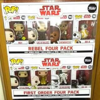 [PRE-ORDER] Star Wars Rebel 4-pack Funko Bundle
