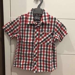 Checkered Shirt (3-4yrs)