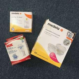 Medela Nursing Pads and Pump & Save Bags