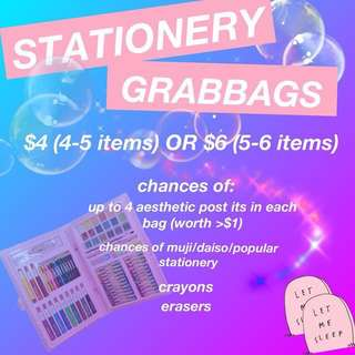 stationery grabbags!✨