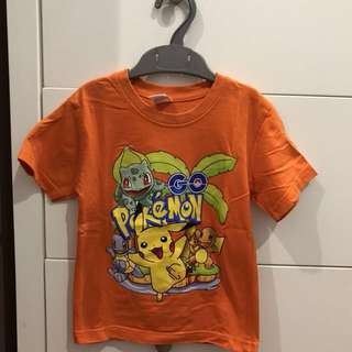 Pokemon Casual t-shirt (3-4yrs)