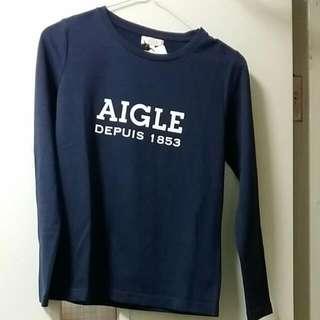 """全新長袖Tee """"Aigle"""""""