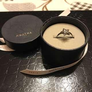 Agatha - Star ring with Swarovski Crystal