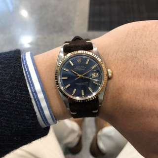 Blue Dial Dayjust 1601