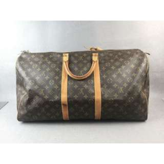 Authentic Lv Keepall 55