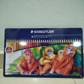 Staedtler 36 Colour Pencils *BRAND NEW*