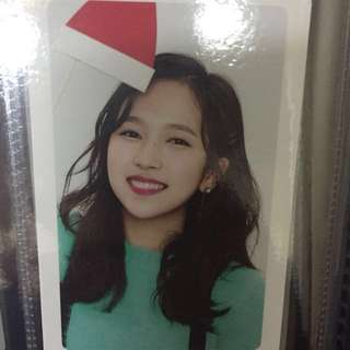 Twice小卡交換 - Merry&Happy 粉Mina 粉多賢 綠定延 換Sana小卡
