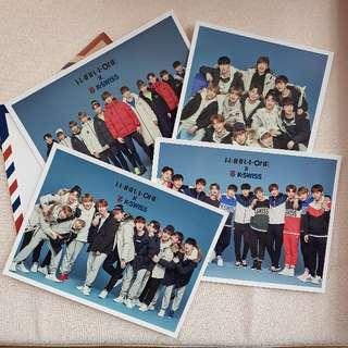 Wanna One X Kswiss (Postcard)