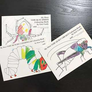Colouring Books - Eric Carle Collection