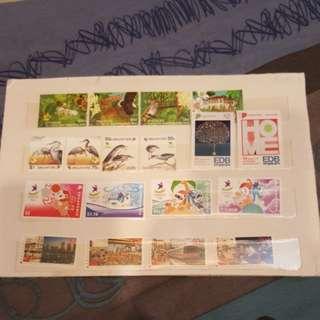 Singapore stamps. 5 set.