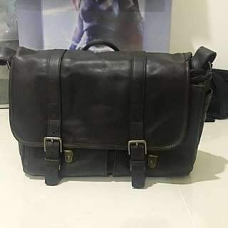 ONA Brixton Dark Truffle Bag