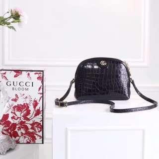 Gucci Ophidia Crocodile Shoulder Bag