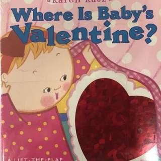 BN Where is Baby's Valentine? by Karen Katz