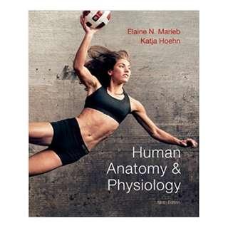 Human Anatomy & Physiology (9th Edition) (Marieb, Human Anatomy & Physiology) BY Elaine N. Marieb (Author), Katja N. Hoehn (Author)