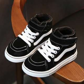 [CNY SALES ] [PO]PROMOTION FOR MONTH OF FEB 2018 ! KIDS HIGH CUT SHOES WITH VELCRO  !!! MANY MANY DESIGN TO CHOOSE !!! PM TO DEAL NOW PROMOTION PRICE !!!!