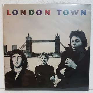 Wings - London Town Vinyl Record