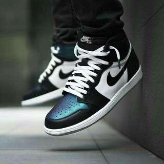 Nike Air Jordan Retro (43) Black Metallic Green