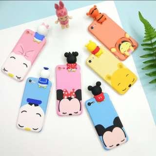 po !! disney 3d pooh minnie mickey daisy donald phone case