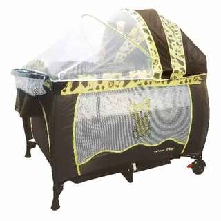 U-BABY PLAYPEN PP330 (BROWN)