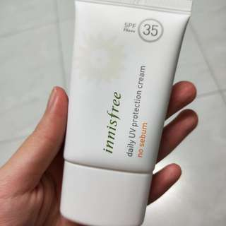 Innisfree No Sebum Sunscreen