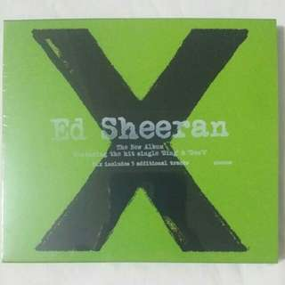 [Music Empire] Ed Sheeran  - Multiply X CD album