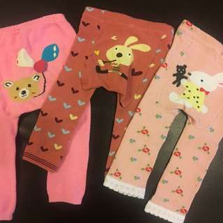 嬰幼兒內搭褲(3件)